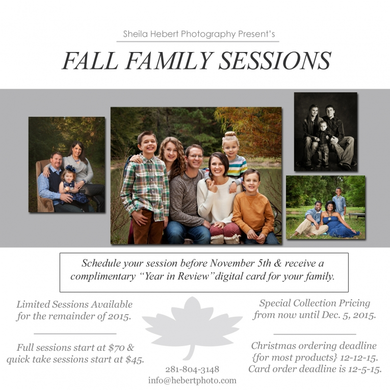 fall family session sheila hebert photography